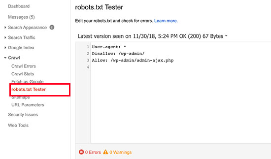 WordPress Robots.txt Ayarları Hakkında