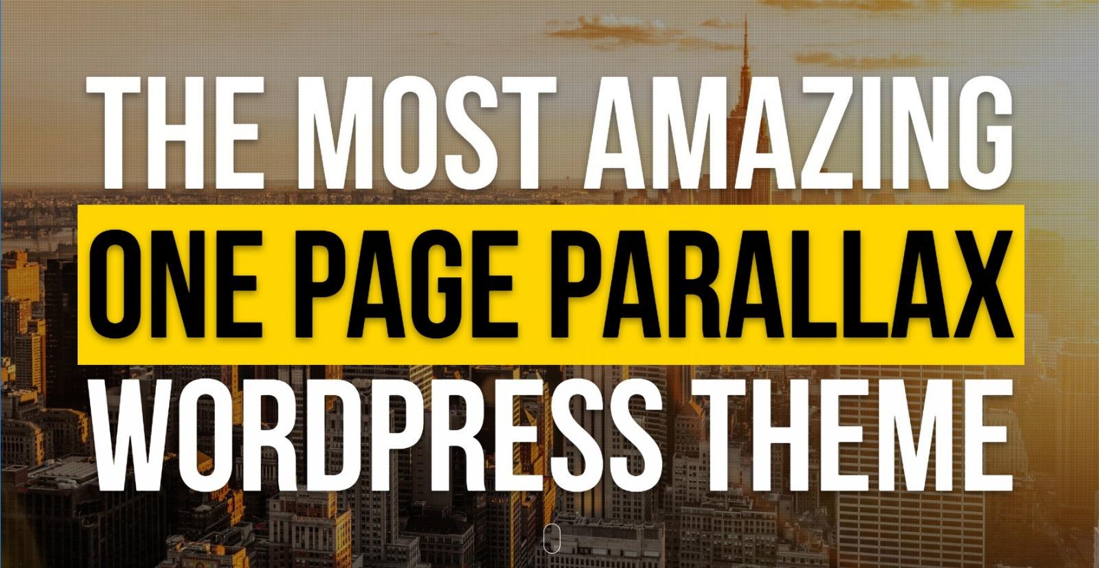 En İyi 5 Tek Sayfa (One Page) WordPress Teması