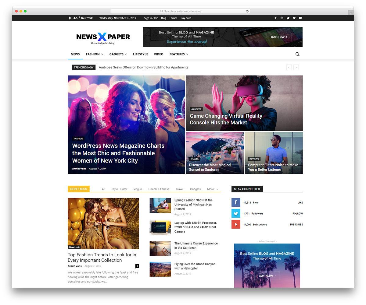 WordPress Teknoloji Temaları