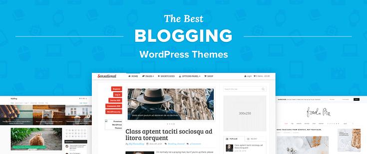 En İyi & Hızlı 5 Blog Teması WordPress 2020
