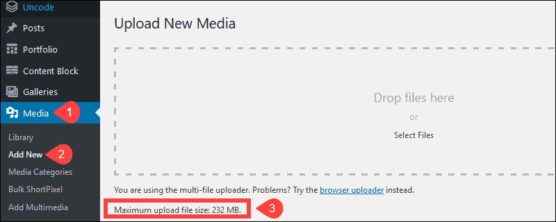 Yüklenen Dosya php.ini İçindeki Upload max filesize Yönergesini Aşıyor Hatası