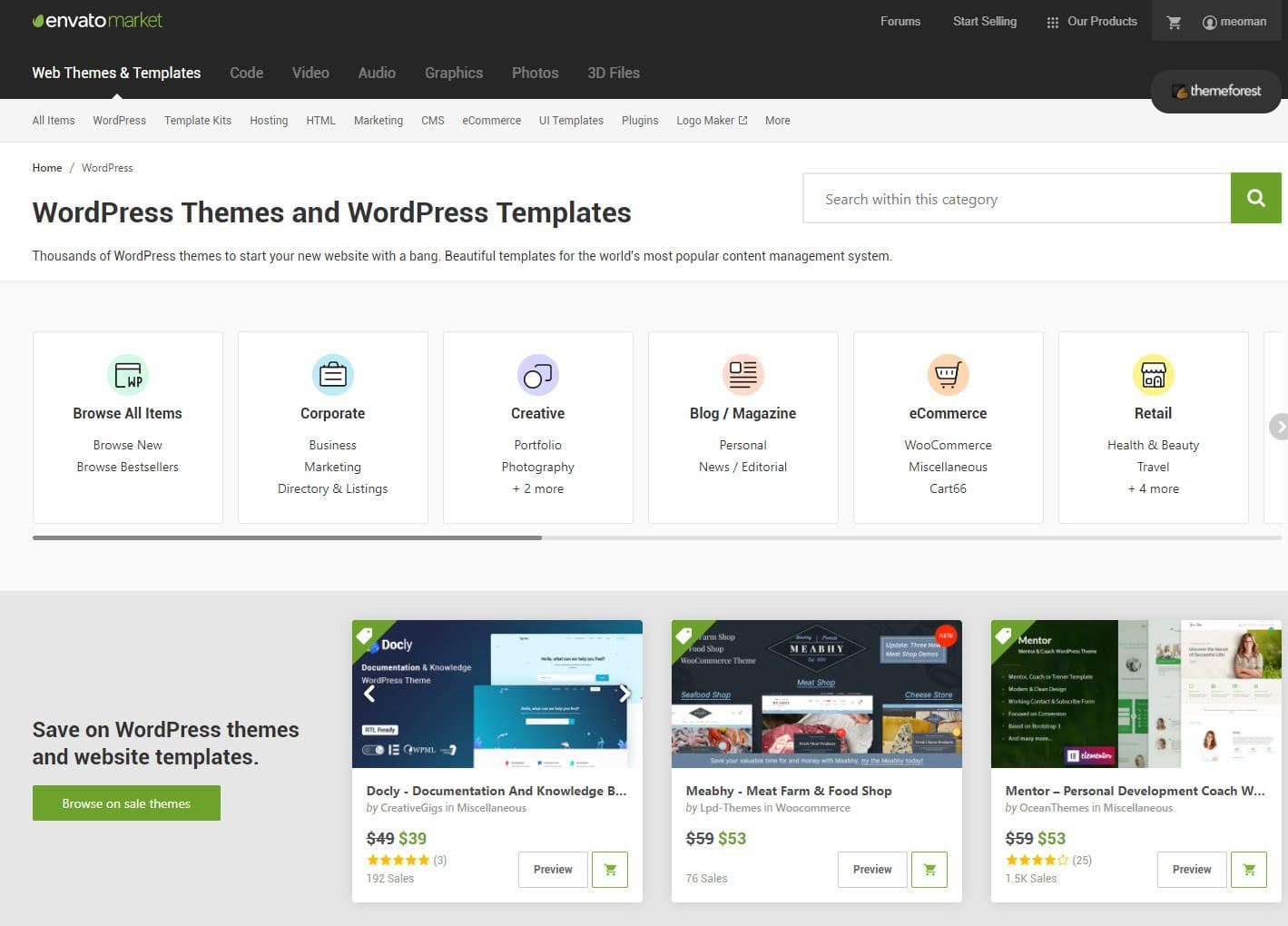 Tüm Zamanların En Çok Satan WordPress Temaları - Theme Forest