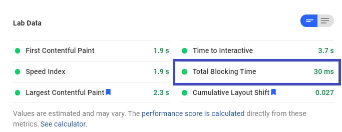 PageSpeed Insights ile Total Blocking Time ve First Input Delay'ı Keşfetmek